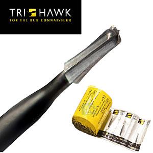 TriHawk Talon 12 Metal and Crown Cutting Burs