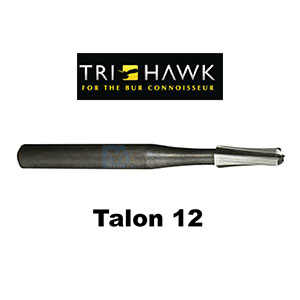 TriHawk Talon 12 Metal and Crown Cutting Burs