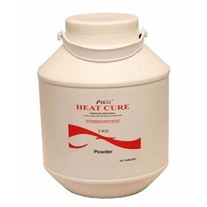 Acrylic Heat Cure Powder Pyrax