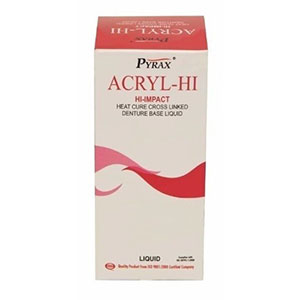 Acrylic Hi ( Hi Impact Denture Base Liquid) - 100 Ml Pyrax